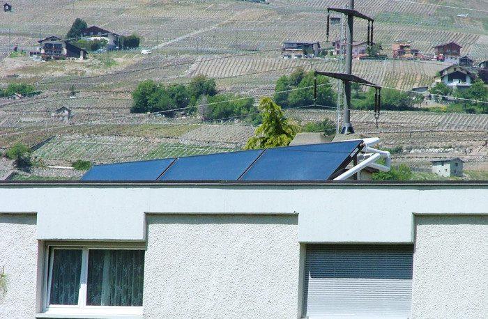 Installation photovoltaïque en Valais