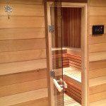 Espace détente, sauna traditionnel