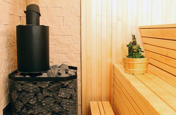 Poêle de chauffage pour sauna
