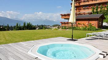 Spa, hôtel à Crans-Montana