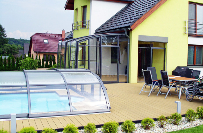 Abri de terrasse et de piscine Alukov