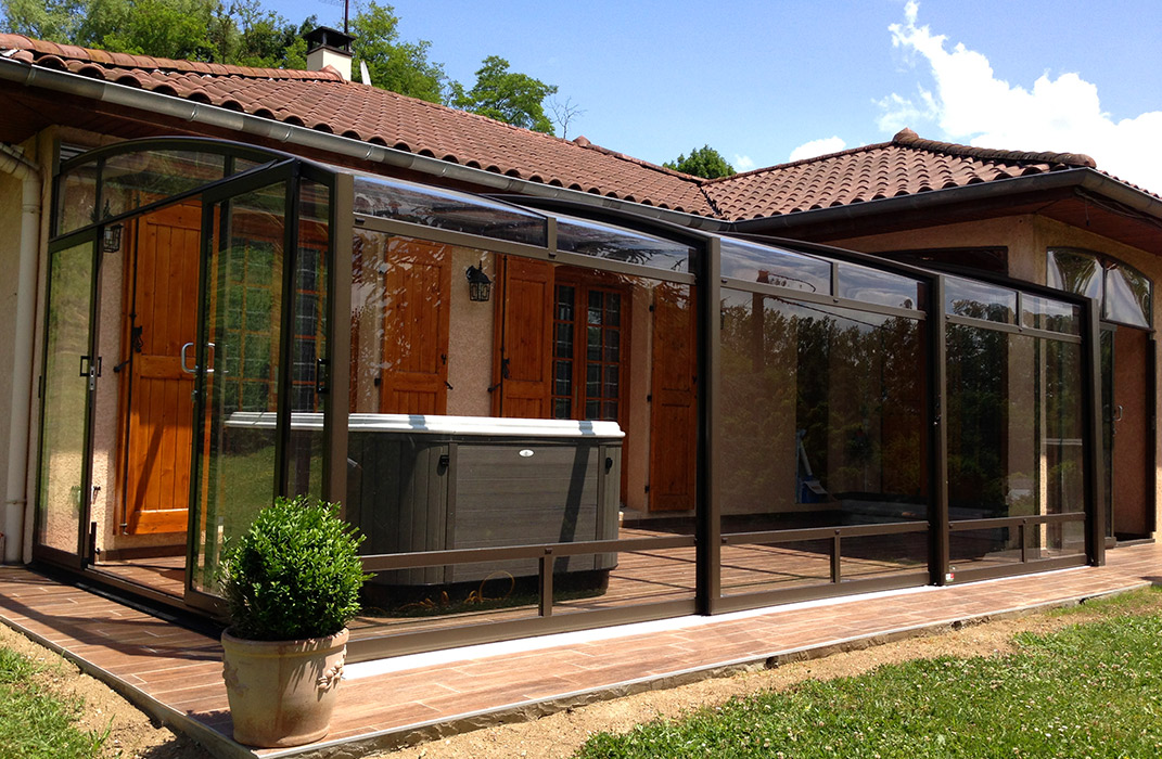 abris et couvertures de piscine archives lamatec. Black Bedroom Furniture Sets. Home Design Ideas