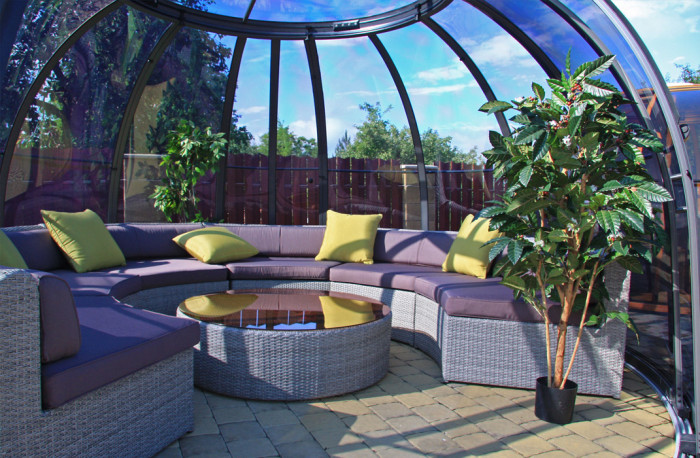 Salon de jardin sous abri Orlando