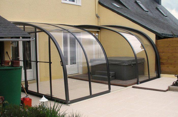Abri de terrasse 3 éléments