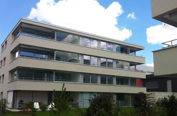 Fermetures de balcons coulissant à Conthey