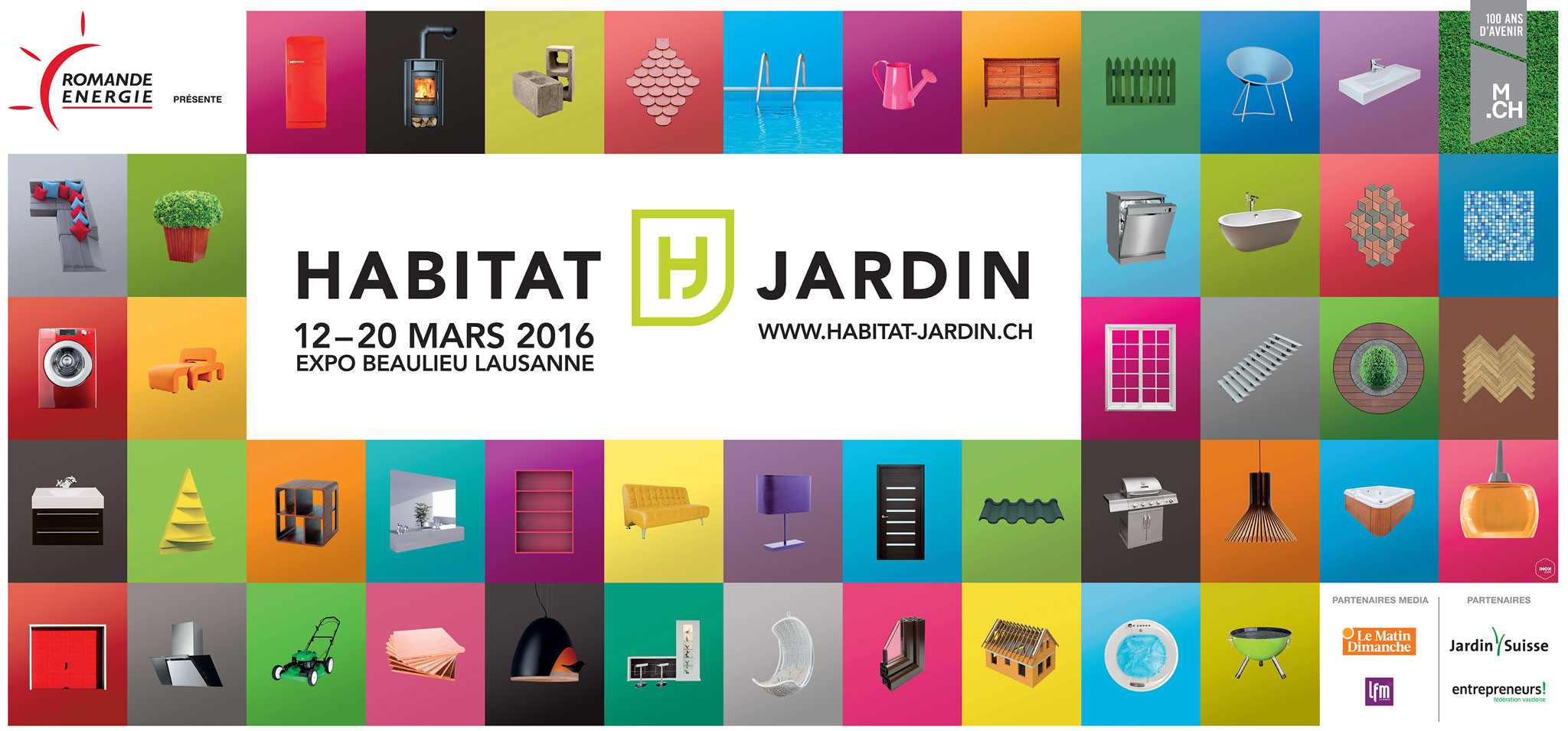 Salon habitat jardin 2016 lausanne lamatec for Salon du jardinage 2016