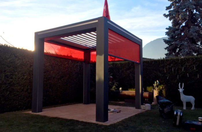 Pergola, fermeture de terrasse automatique