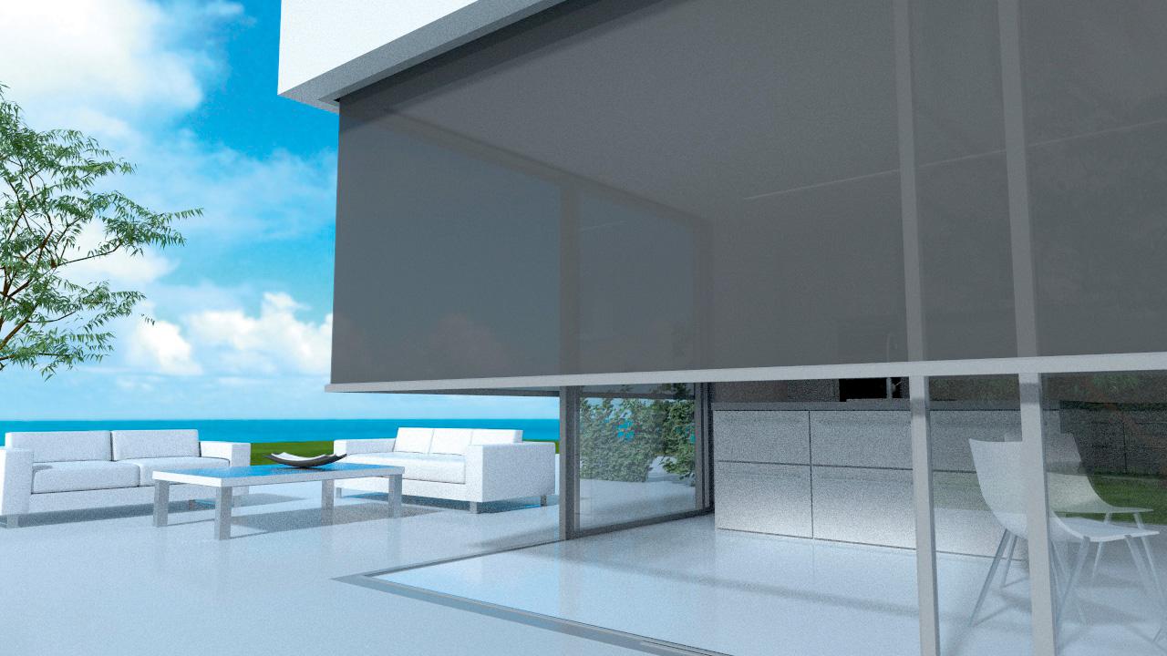 Stores pour fenêtres d'angle PANOVISTA