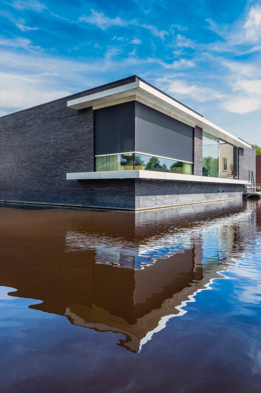 PANOVISTA, protection solaire pour fenêtres d'angle