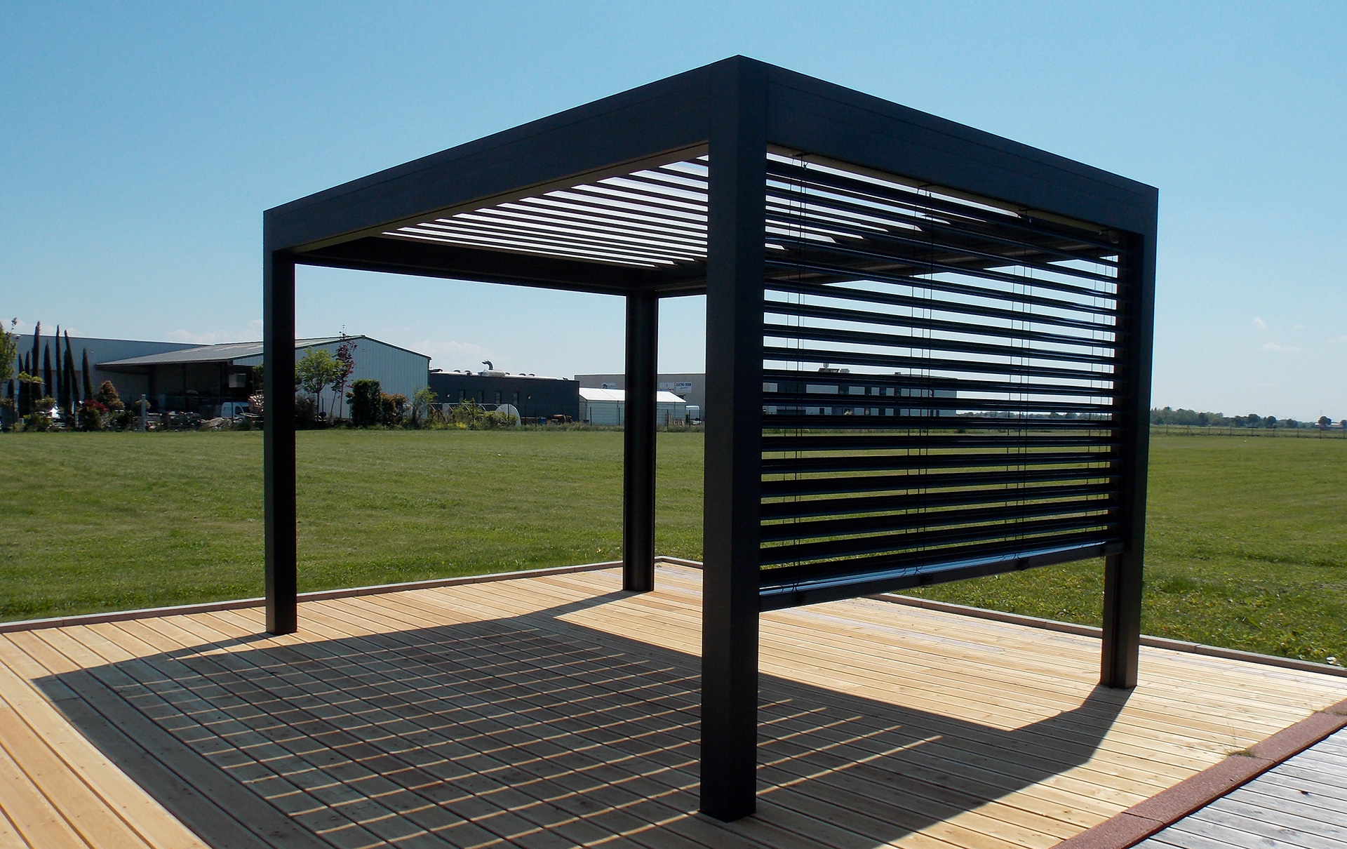 pergola open en promotion lamatec. Black Bedroom Furniture Sets. Home Design Ideas