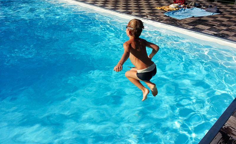 Remise en service de la piscine