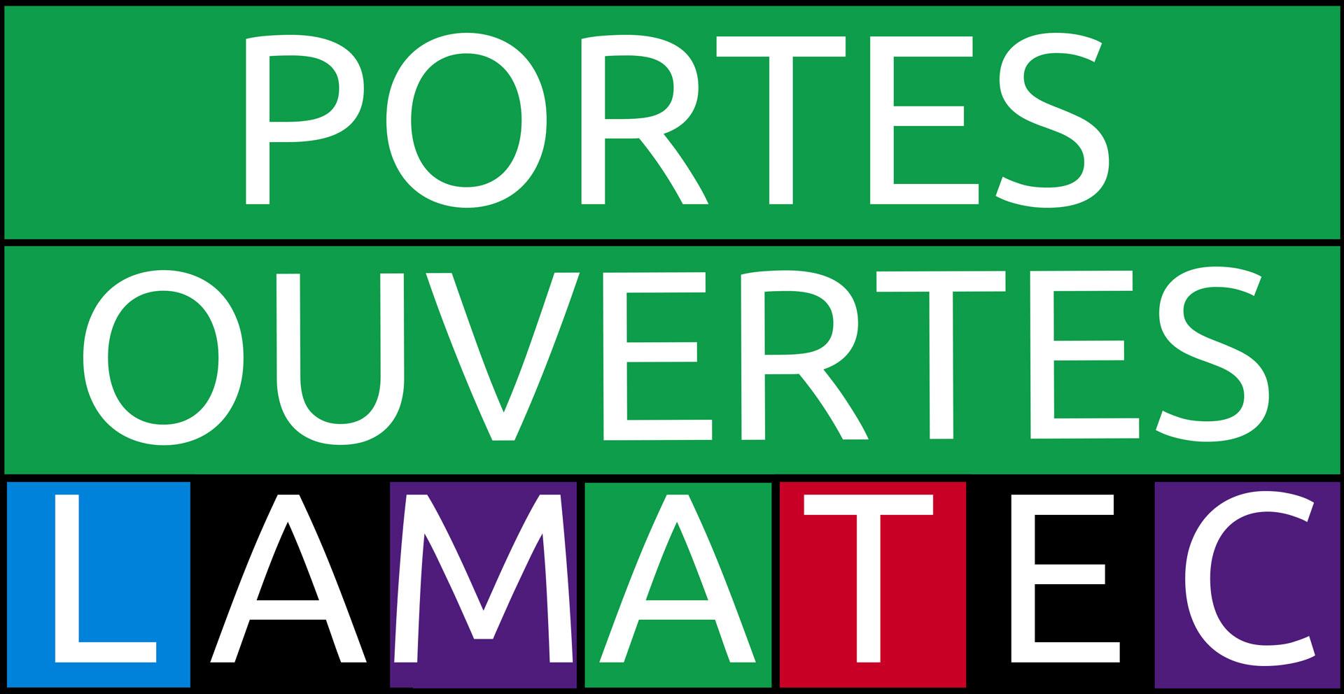 Portes ouvertes Lamatec 2019