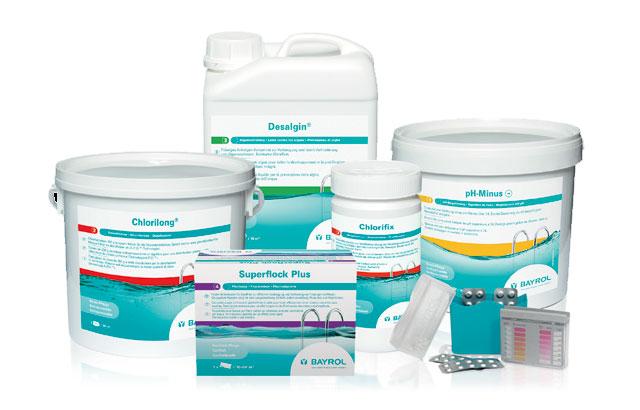 Produits d'entretien piscine et traitement de l'eau
