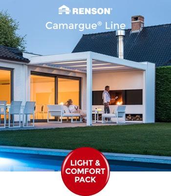 Promotions d'automne 2019 sur les pergolas Renson Camargue