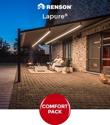 Promotions d'automne 2019 sur les pergolas Renson Lapure