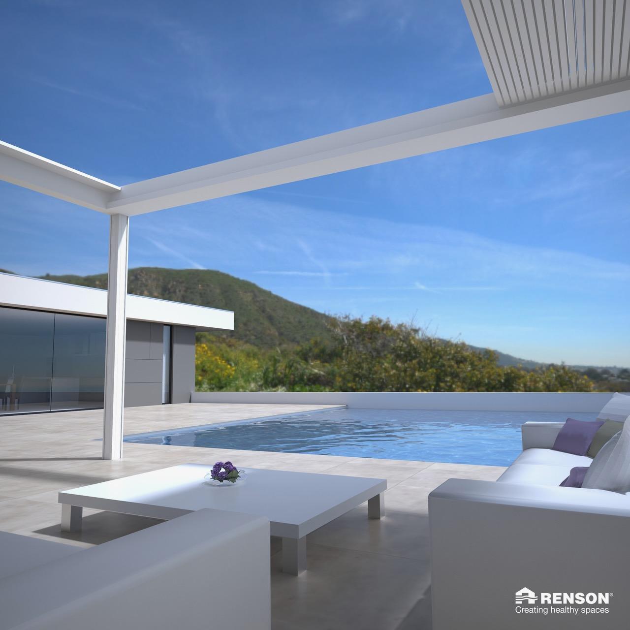 Toiture de terrasse RENSON