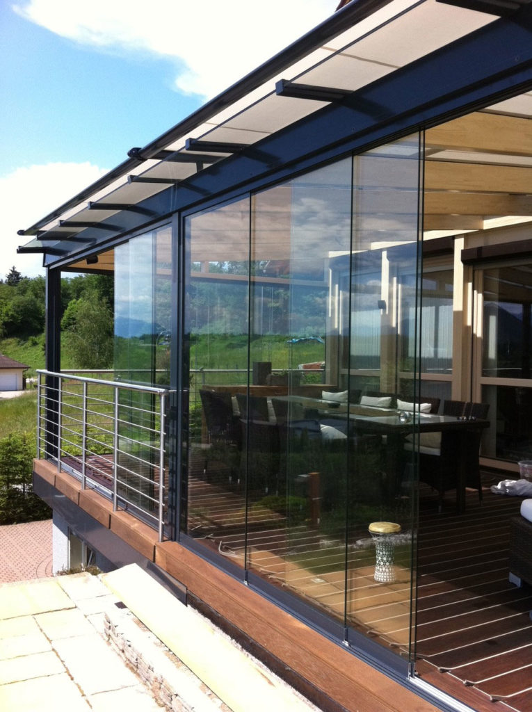 Vitrage de terrasse Sunflex SF 20